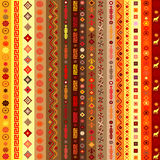 Ethnic motifs pattern background Royalty Free Stock Photo