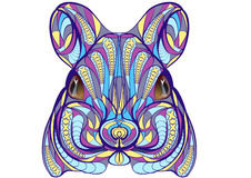 Ethnic mouse Royalty Free Stock Photo