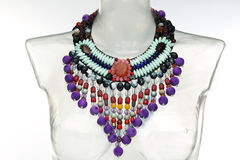 Ethnic necklace Royalty Free Stock Image