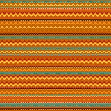 Ethnic ornament abstract geometric seamless fabric Royalty Free Stock Images