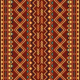 Ethnic ornament abstract geometric seamless Royalty Free Stock Images