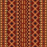 Ethnic ornament abstract geometric seamless. Vector pattern stock illustration