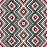 Ethnic ornament geometric seamless pattern. Ethnic ornament abstract geometric seamless vector pattern Stock Image