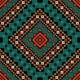 Ethnic ornament. Geometric ornament in ethnic style royalty free illustration