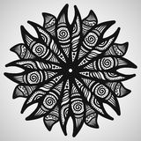 Ethnic ornament on white background. Vector illustration royalty free illustration