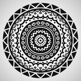 Ethnic ornament on white background. Vector illustration Stock Photography