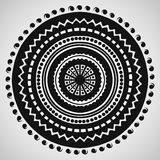 Ethnic ornament on white background. Vector illustration Royalty Free Stock Photos