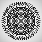 Ethnic ornament on white background. Vector illustration Royalty Free Stock Images