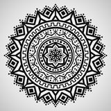 Ethnic ornament on white background. Vector illustration Royalty Free Stock Photography