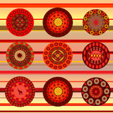 Ethnic ornamental background Royalty Free Stock Photos