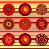 Ethnic ornamental background Royalty Free Stock Photos