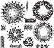 Ethnic ornamental rosettes Stock Image