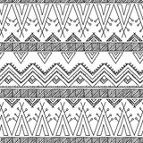 Ethnic ornamental textile seamless pattern Stock Image