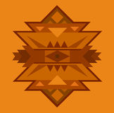 Ethnic ornamented element of pattern Stock Photo
