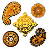 Ethnic ornaments set Royalty Free Stock Image