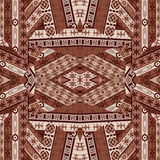 Ethnic patchwork design Royalty Free Stock Photo