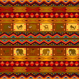 Ethnic pattern. Decorative design with African motives Royalty Free Stock Photos