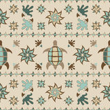 Ethnic pattern. Ethnic decotative seamless beige pattern Royalty Free Stock Photography