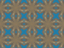 Ethnic pattern. Abstract kaleidoscope  fabric design. Royalty Free Stock Images