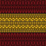 Ethnic pattern in African style Stock Photos