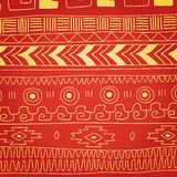 Ethnic pattern of American Indians Royalty Free Stock Photography