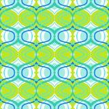 Ethnic pattern with arabic motifs royalty free illustration