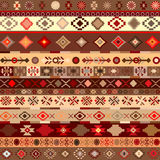 Ethnic pattern background Stock Photos