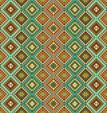 Ethnic pattern background. Seamless pattern background with ethnic accents stock illustration