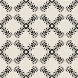 Ethnic pattern. Of black color with a lot of small elements Stock Illustration