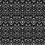 Ethnic pattern in black and white Stock Photography