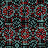 Ethnic pattern decorative backgrund Royalty Free Stock Image