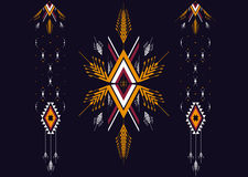 Ethnic pattern. Geometric pattern. design for background and wallpaper, clothing pattern, and wrapping. Stock Photography