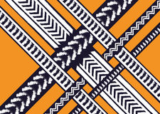 Ethnic pattern. Geometric pattern. design for background and wallpaper, clothing pattern, and wrapping. Stock Photo