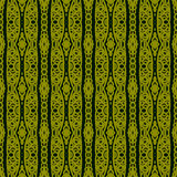 Ethnic pattern with lacy ornament Royalty Free Stock Photos