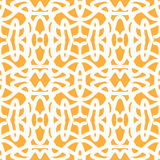 Ethnic pattern. Simple pattern with ethnic motifs for the decor Stock Images
