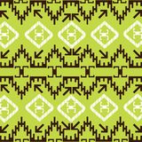 Ethnic pattern with traditional  motives Royalty Free Stock Photography
