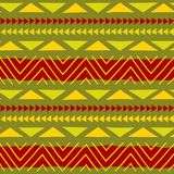 Ethnic pattern. Tribal art. African pattern. Vector background. stock images