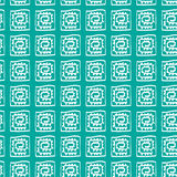Ethnic pattern. Tribal, ethnic pattern, seamless background with geometric elements Royalty Free Stock Photo