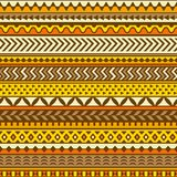 Ethnic pattern. Vector seamless background. Stock Photo