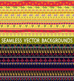 Ethnic patterns line Stock Image