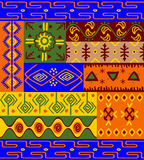 Ethnic patterns and ornaments Stock Image