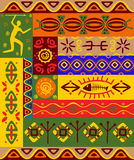 Ethnic patterns and ornaments Stock Images