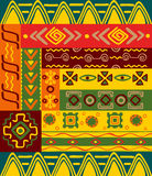 Ethnic patterns and ornaments Royalty Free Stock Image