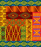Ethnic patterns and ornaments Royalty Free Stock Images
