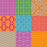 Ethnic Patterns Stock Images