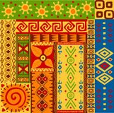 Ethnic patterns Royalty Free Stock Image