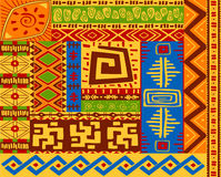 Ethnic patterns Royalty Free Stock Photo