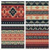 Ethnic patterns set 004 Royalty Free Stock Image