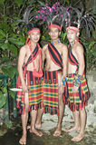 Ethnic people costumes. Picture of native Filipino costumes Stock Image