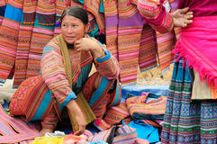 Ethnic people in Vietnam Royalty Free Stock Image